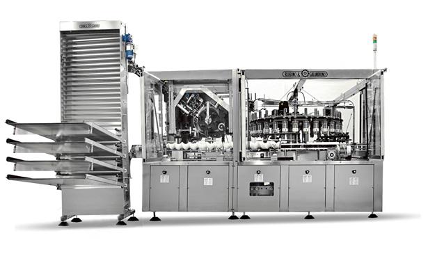 robino and galandrino capsuling equipment for packaging