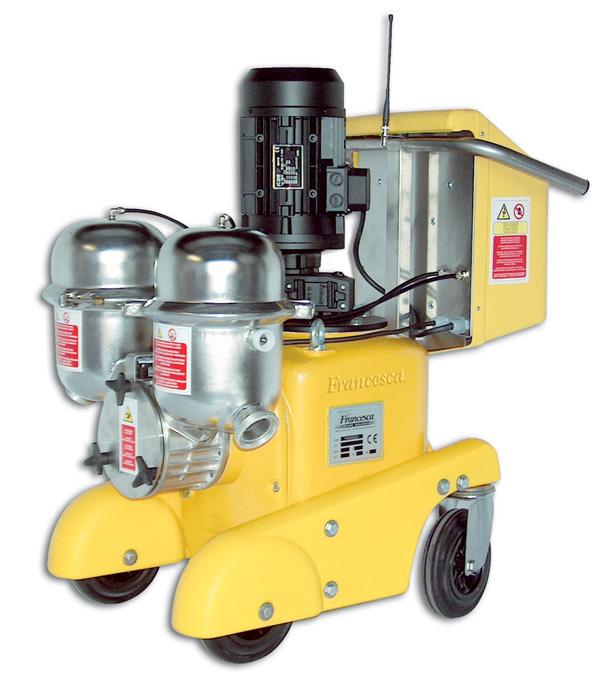 yellow francesca positive displacement pump