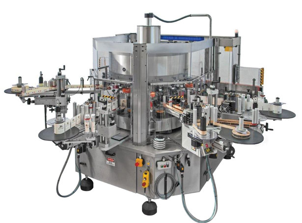 Cavagnino and Gatti labeler for wine and beverage packaging equipment